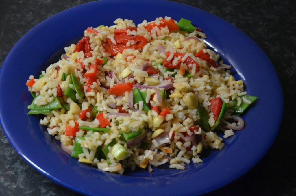 Mixed Rice Salad