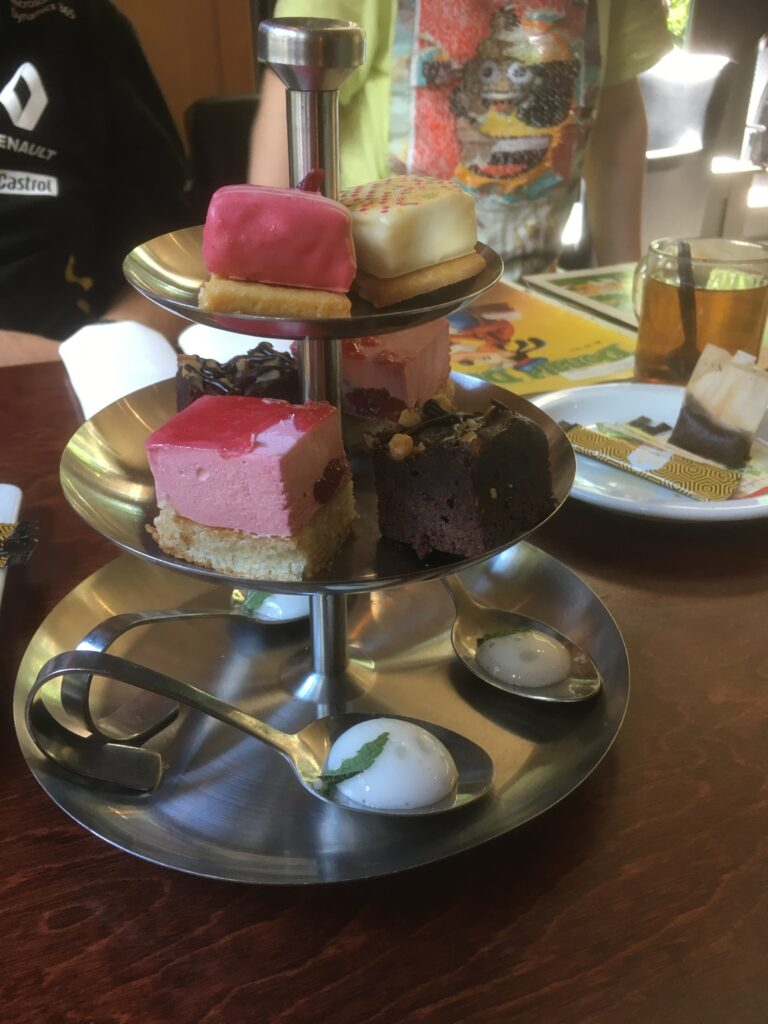 Mother's Day High Tea, pastries